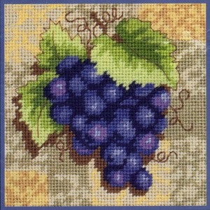 Dimensions 17061 Grapes on Tile (made in USA)
