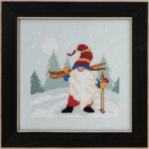 Mill Hill MH17-2011 Skiing Gnome (Гном - лыжник)