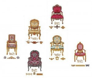 Thea Gouverneur 3068 Six Chairs