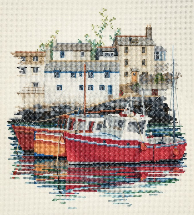 Набор для вышивания Derwentwater Designs SEA04 Fishin Village