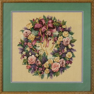 Dimensions 70-03837 Wreath of Roses