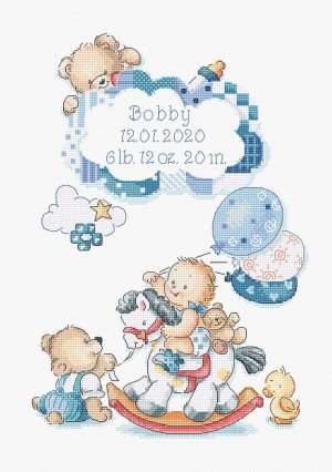 LetiStitch 968 It's a boy! (Это мальчик!)