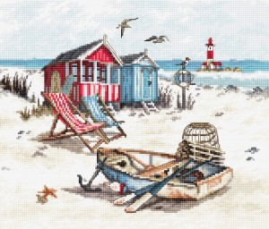 LetiStitch 972 Beach (Пляж)