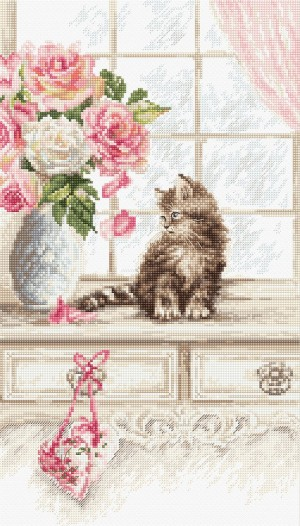 LetiStitch 976 Kitten (Котенок)