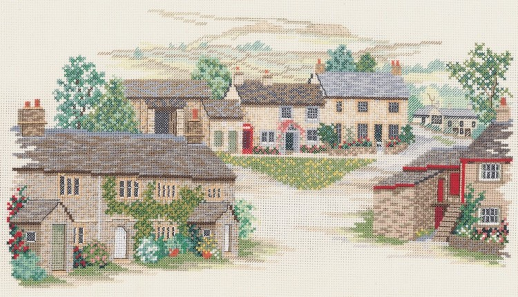 Набор для вышивания Derwentwater Designs 14VE16 Yorkshire Village