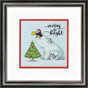 Dimensions 70-08990 Merry and Bright Bear