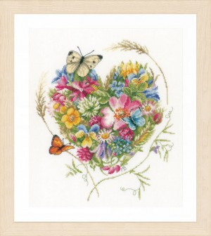 Lanarte PN-0169960 A heart of flowers
